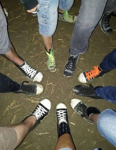 elvetik bottes en caoutchouc festivals