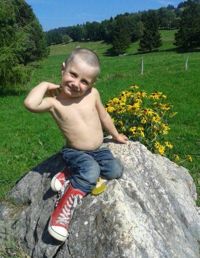 elvetik bottes en caoutchouc pour enfant