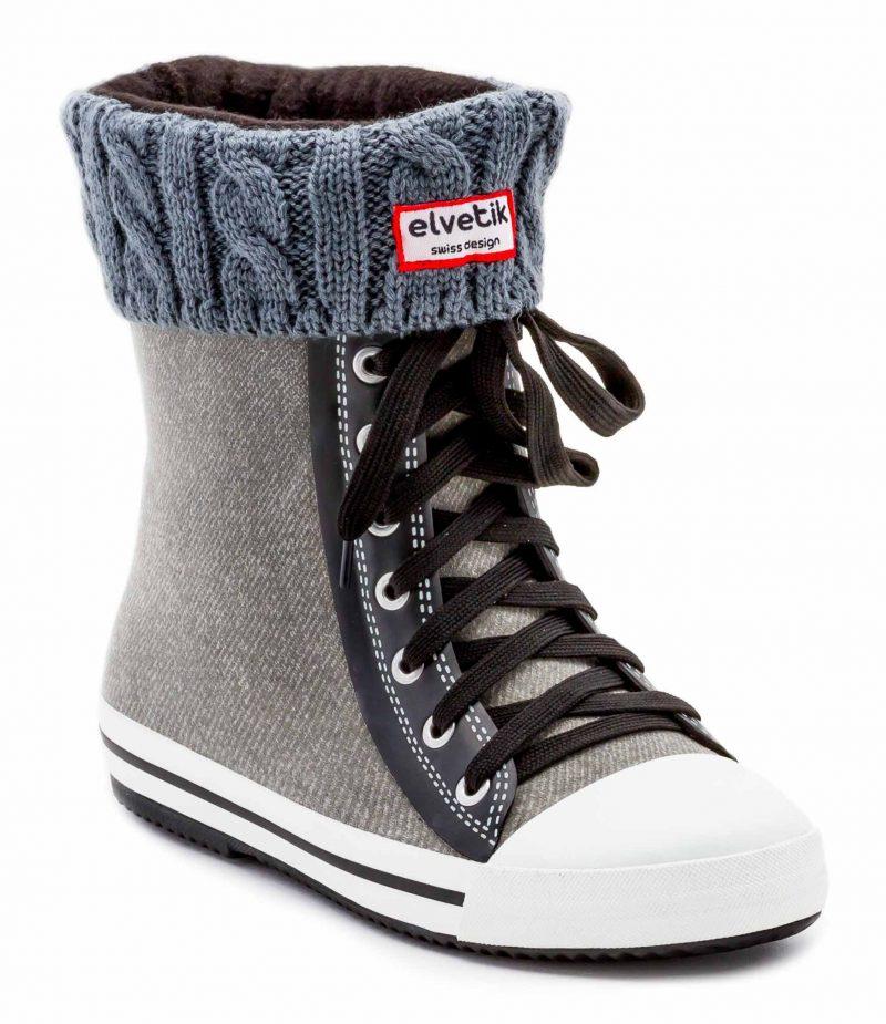 chaussettes gris 5