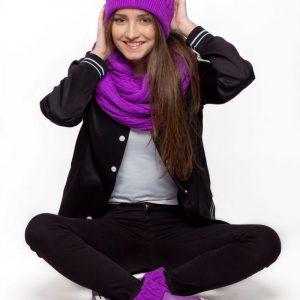 pack complet violet femme