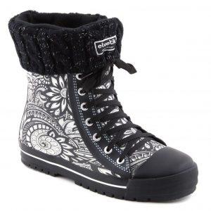 chaussettes noir paillettes 2
